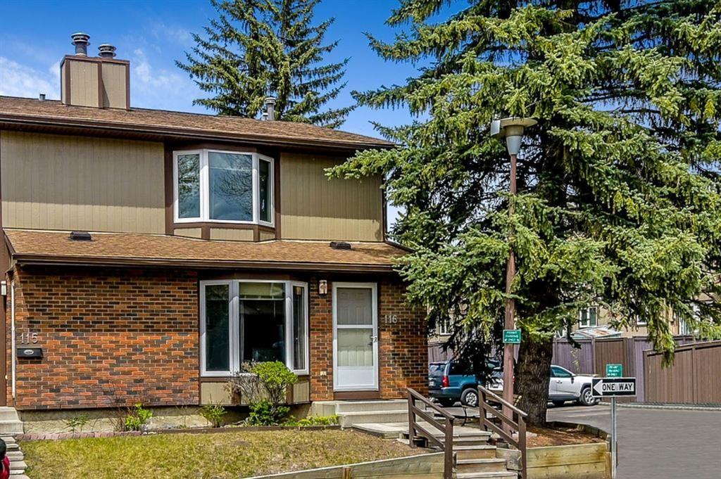Main Photo: 116 6103 Madigan Drive NE in Calgary: Marlborough Park Row/Townhouse for sale : MLS®# A1111387
