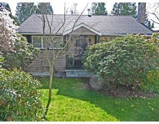Photo 1: 1215 DORAN RD in North Vancouver: House for sale : MLS®# V816234
