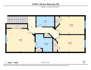 Photo 49: 37 9511 102 Ave: Morinville Townhouse for sale : MLS®# E4227386