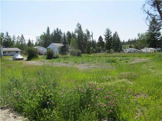 Photo 1: 185 HICKORY Road in Williams Lake: Williams Lake - Rural North Land for sale (Williams Lake (Zone 27))  : MLS®# N220144