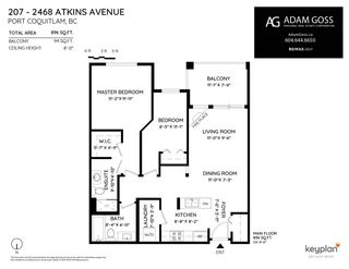 "Photo 28: 207 2468 ATKINS Avenue in Port Coquitlam: Central Pt Coquitlam Condo for sale in ""BORDEAUX"" : MLS®# R2448658"