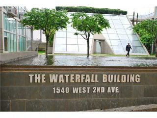 """Photo 8: 203 1540 W 2ND Avenue in Vancouver: False Creek Condo for sale in """"WATERFALL BUILDING"""" (Vancouver West)  : MLS®# V954778"""
