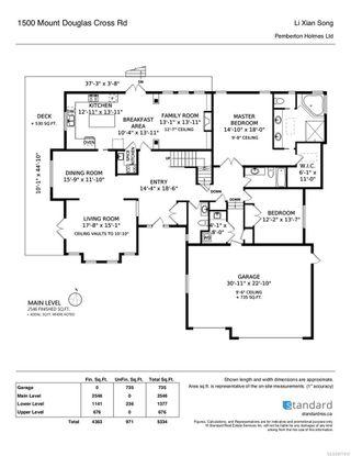 Photo 39: 1500 Mt. Douglas Cross Rd in : SE Mt Doug House for sale (Saanich East)  : MLS®# 877812