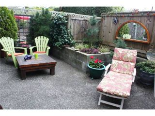 """Photo 9: 105 838 W 16TH Avenue in Vancouver: Cambie Condo for sale in """"WILLOW SPRINGS"""" (Vancouver West)  : MLS®# V823923"""