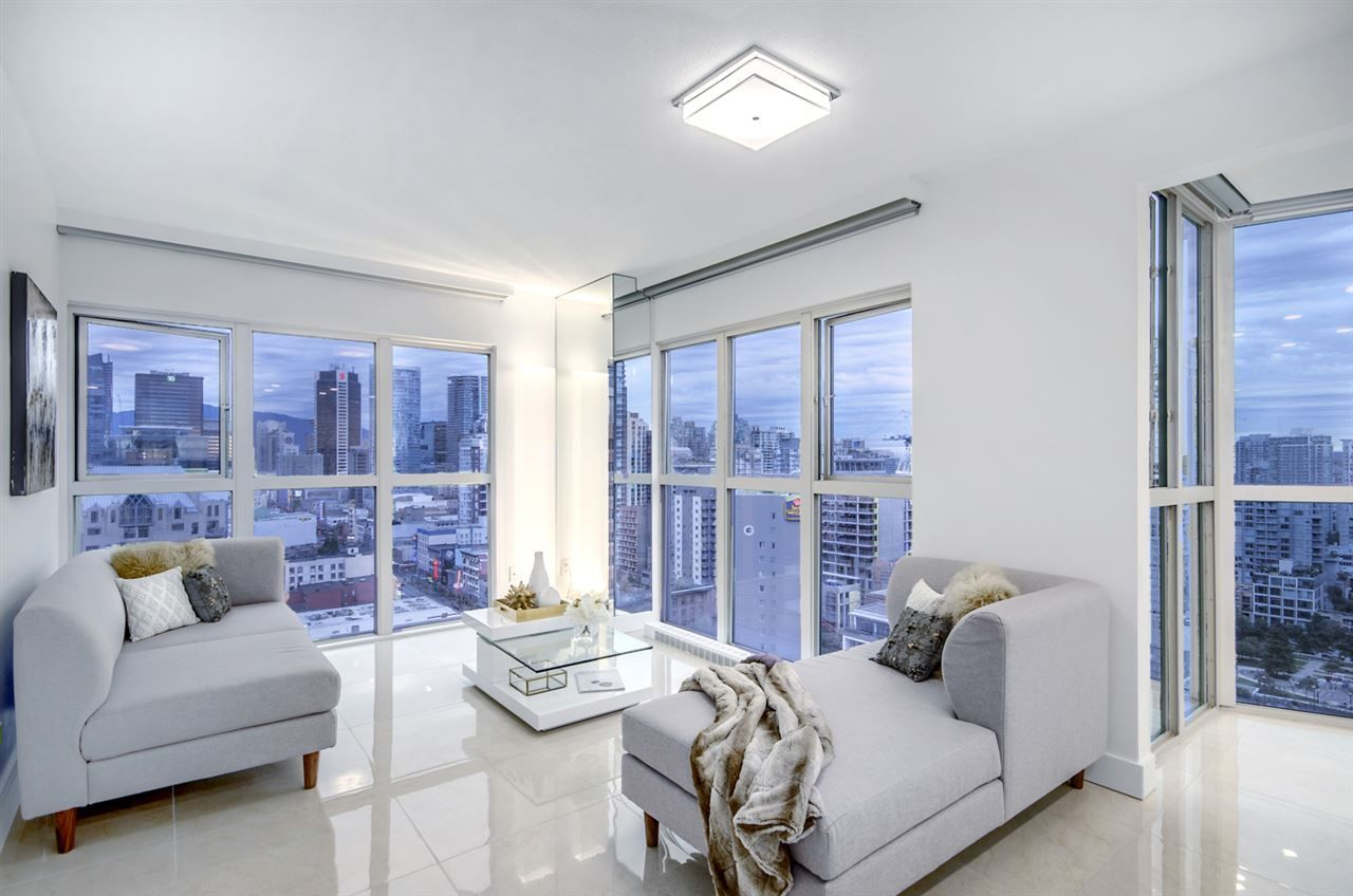 """Main Photo: 1907 1188 HOWE Street in Vancouver: Downtown VW Condo for sale in """"1188 Howe"""" (Vancouver West)  : MLS®# R2132666"""