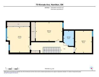 Photo 35: 75 Kindrade Avenue in Hamilton: House for sale : MLS®# H4086008