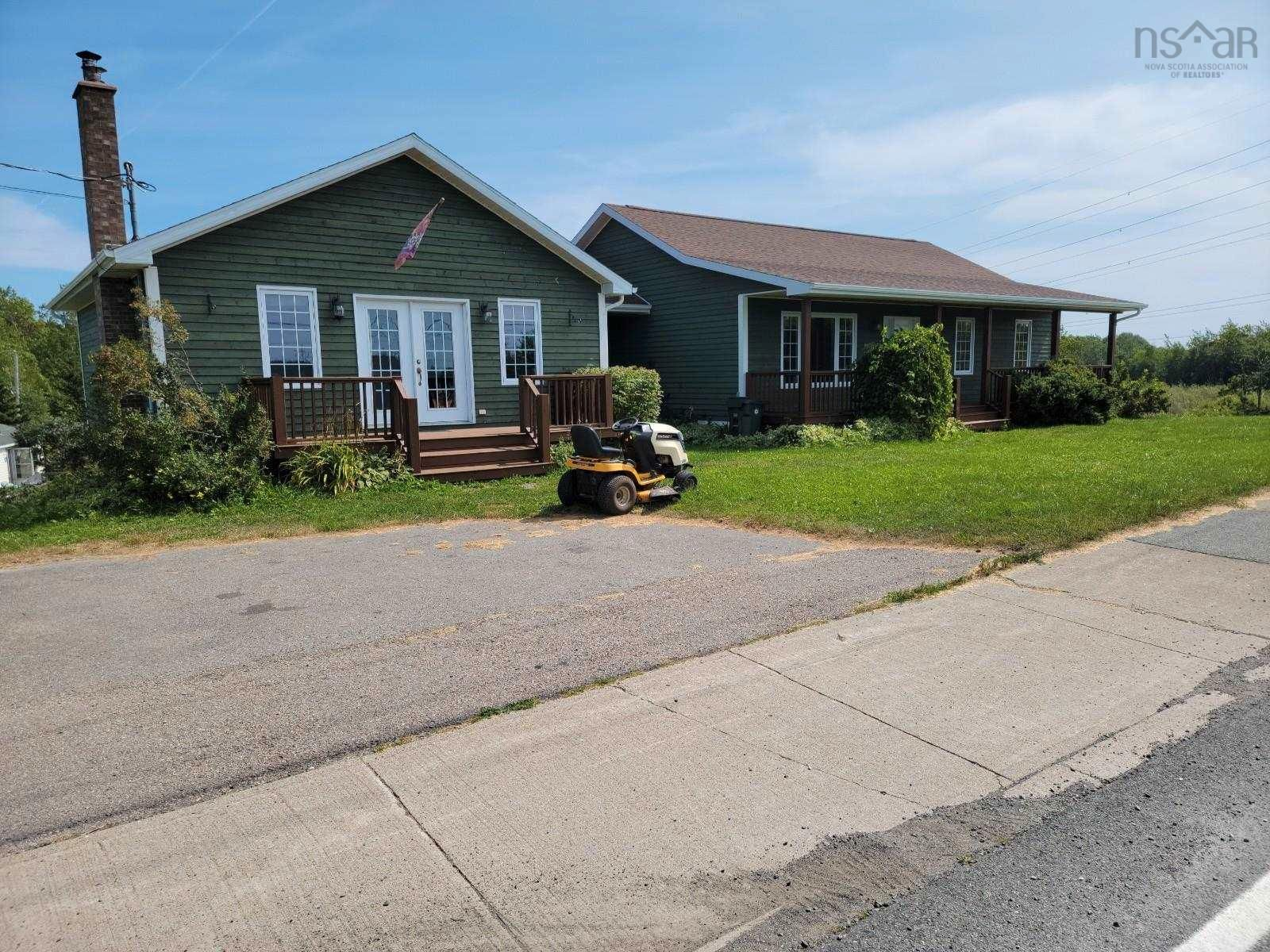 Main Photo: 156 Alder Point Road in Alder Point: 205-North Sydney Residential for sale (Cape Breton)  : MLS®# 202122057