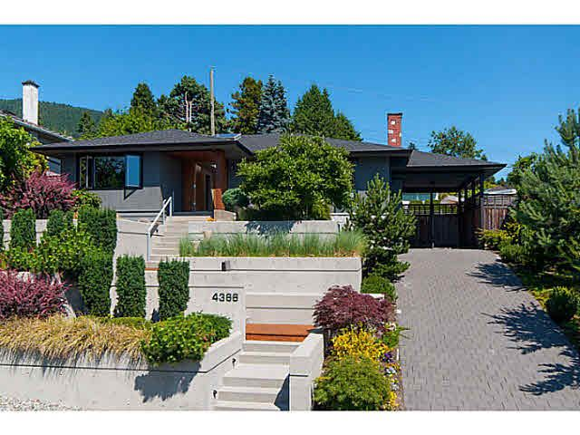 Main Photo: 4366 CANTERBURY CRESCENT in NORTH VANCOUVER: Forest Hills NV House for sale (North Vancouver)  : MLS®# V1132532
