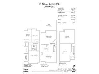 """Photo 36: 14 46858 RUSSELL Road in Chilliwack: Promontory Townhouse for sale in """"Panorama Ridge"""" (Sardis)  : MLS®# R2613048"""