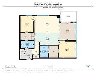Photo 45: 505 626 14 Avenue SW in Calgary: Beltline Apartment for sale : MLS®# A1060874
