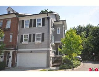 "Photo 1: 21 15075 60TH Avenue in Surrey: Sullivan Station Townhouse for sale in ""NATURE'S WALK"" : MLS®# F2912655"