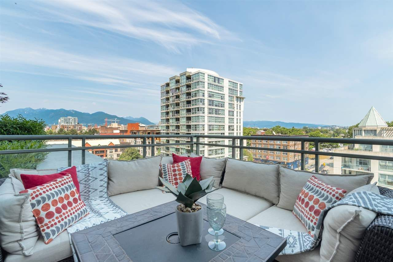"""Main Photo: 702 1128 QUEBEC Street in Vancouver: Mount Pleasant VE Condo for sale in """"City Gate"""" (Vancouver East)  : MLS®# R2188835"""