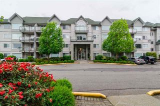 """Photo 1: 410 33688 KING Road in Abbotsford: Poplar Condo for sale in """"College Park Place"""" : MLS®# R2340929"""