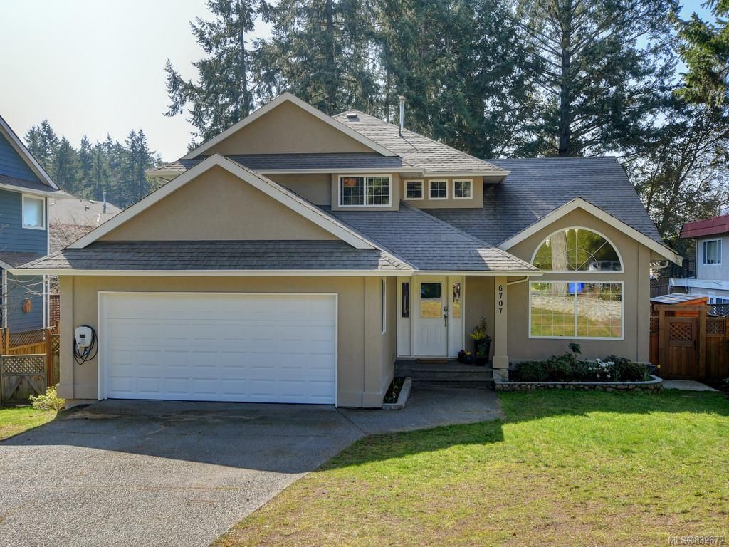 Main Photo: 6707 Amwell Dr in Central Saanich: CS Brentwood Bay House for sale : MLS®# 839672