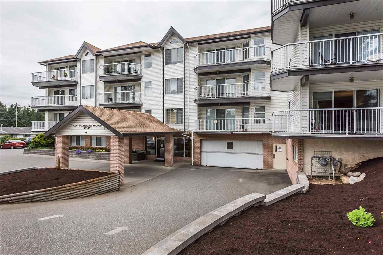 """Main Photo: 320 33535 KING Road in Abbotsford: Poplar Condo for sale in """"Central Heights Manor"""" : MLS®# R2337250"""
