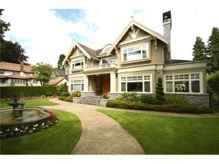 Photo 1: 6576 ADERA ST in Vancouver: South Granville House for sale (Vancouver West)  : MLS®# V902009