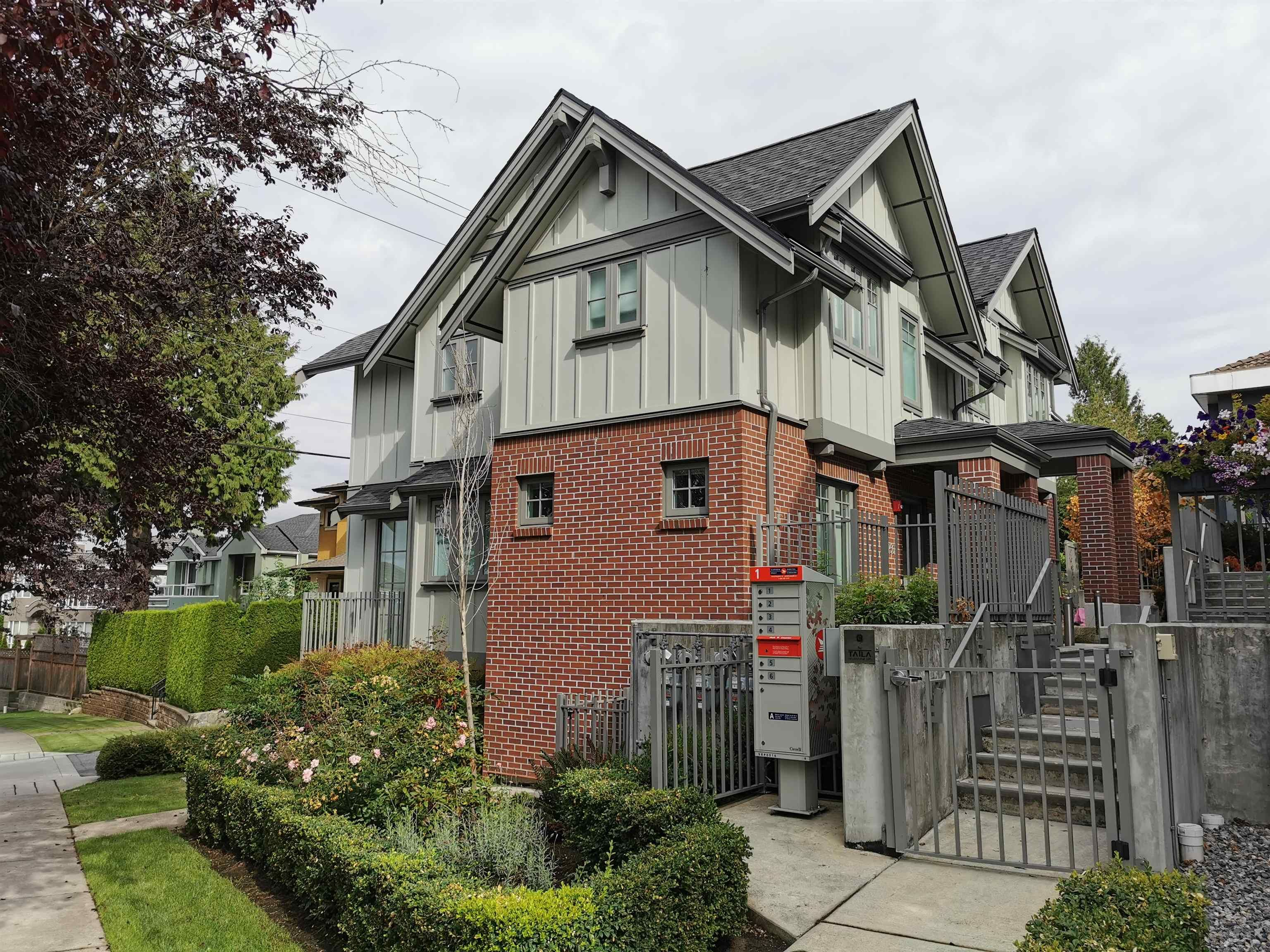 Main Photo: 1507 W 59TH Avenue in Vancouver: South Granville Townhouse for sale (Vancouver West)  : MLS®# R2609614