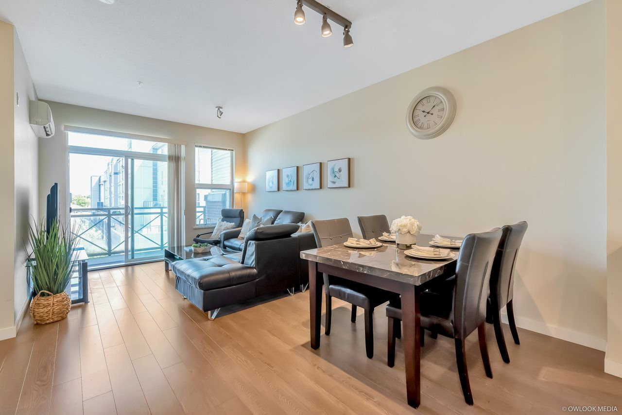 """Main Photo: 306 9388 MCKIM Way in Richmond: West Cambie Condo for sale in """"MAYFAIR PLACE"""" : MLS®# R2488956"""