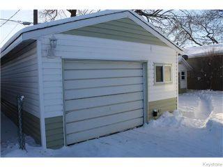 Photo 16: 22 Carnarvan Road in WINNIPEG: St James Residential for sale (West Winnipeg)  : MLS®# 1600661
