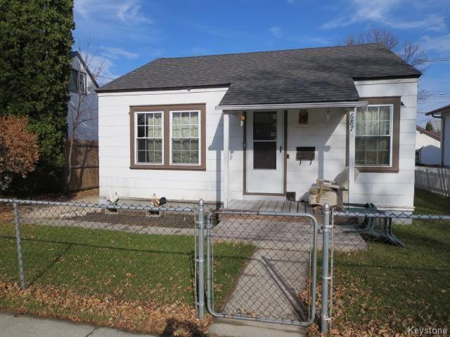 Main Photo: 687 Atlantic Avenue in Winnipeg: North End Residential for sale (North West Winnipeg)  : MLS®# 1606568