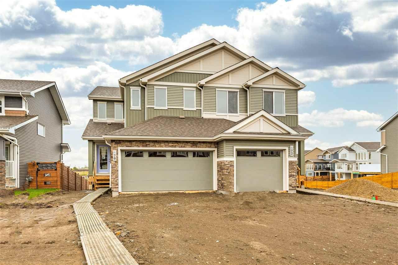Main Photo: 70 JOYAL Way: St. Albert House Half Duplex for sale : MLS®# E4244167