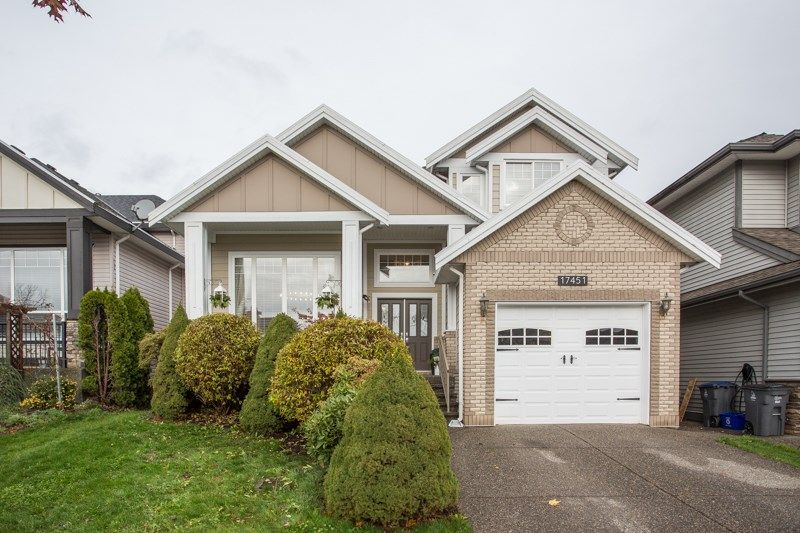 "Main Photo: 17451 64A Avenue in Surrey: Cloverdale BC House for sale in ""Clover-Ridge"" (Cloverdale)  : MLS®# R2518954"