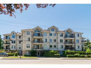 """Photo 1: 106 33502 GEORGE FERGUSON Way in Abbotsford: Central Abbotsford Condo for sale in """"Carina Court"""" : MLS®# R2262879"""