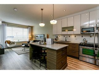 """Photo 2: 211 16390 64TH Avenue in Surrey: Cloverdale BC Condo for sale in """"The Ridge At Bose Farms"""" (Cloverdale)  : MLS®# F1431232"""