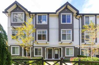 "Photo 1: 42 14271 60 Avenue in Surrey: Sullivan Station Townhouse for sale in ""BLACKBERRY WALK"" : MLS®# R2413011"