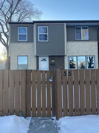 Photo 1: 35 WILLOWDALE Place in Edmonton: Zone 20 Townhouse for sale : MLS®# E4229271