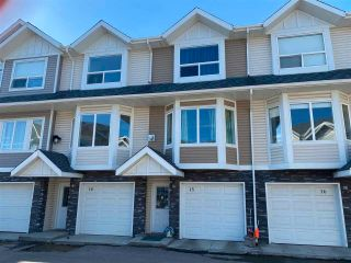 Photo 1: 15 13215 153 Avenue in Edmonton: Zone 27 Townhouse for sale : MLS®# E4220487