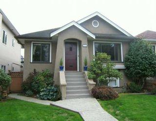 "Photo 1: 2774 WILLIAM Street in Vancouver: Renfrew VE House for sale in ""RENFREW"" (Vancouver East)  : MLS®# V615703"