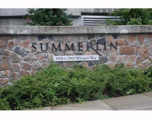 """Photo 3: Photos: 403 2958 WHISPER Way in Coquitlam: Westwood Plateau Condo for sale in """"SUMMERLIN AT SILVER SPRINGS"""" : MLS®# V682850"""