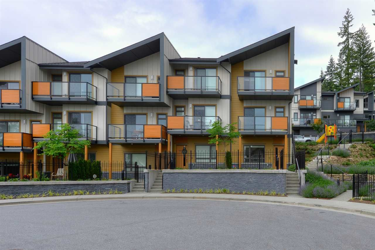"Main Photo: 110 3525 CHANDLER Street in Coquitlam: Burke Mountain Townhouse for sale in ""WHISPER"" : MLS®# R2398617"