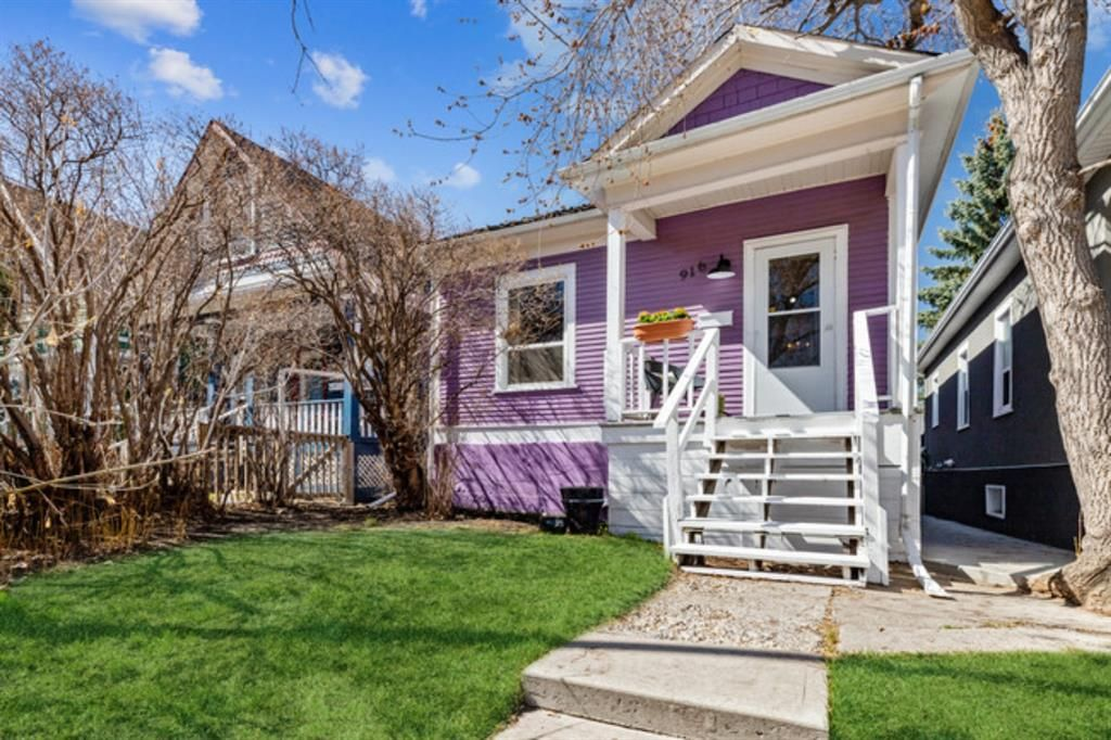 Main Photo: 916 2 Avenue NW in Calgary: Sunnyside Detached for sale : MLS®# A1139430