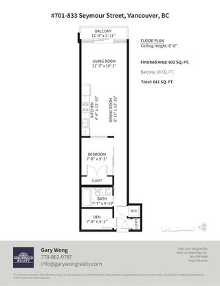 """Photo 2: 701 833 SEYMOUR Street in Vancouver: Downtown VW Condo for sale in """"THE CAPITOL"""" (Vancouver West)  : MLS®# R2185713"""
