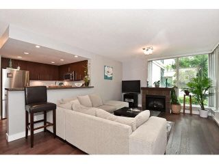 """Photo 4: 202 125 MILROSS Avenue in Vancouver: Mount Pleasant VE Condo for sale in """"CREEKSIDE"""" (Vancouver East)  : MLS®# V1142300"""