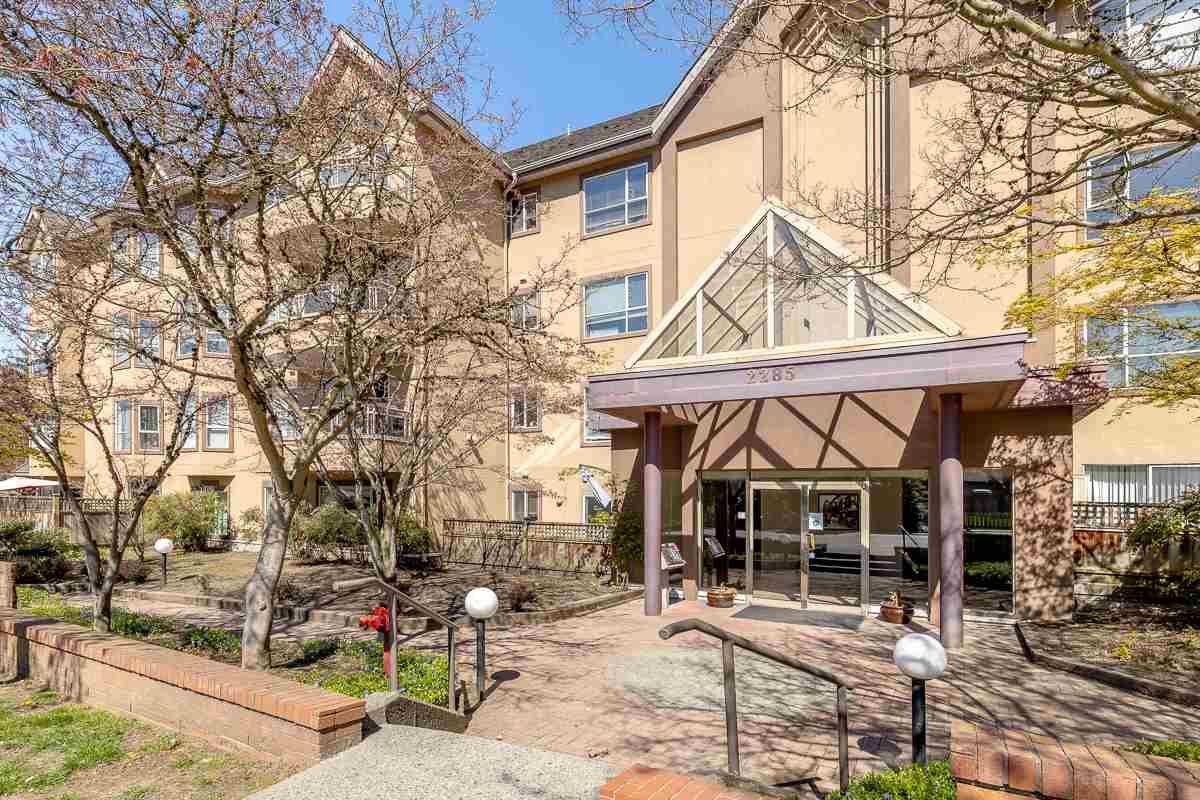 "Main Photo: 102 2285 PITT RIVER Road in Port Coquitlam: Central Pt Coquitlam Condo for sale in ""SHAUGHNESSY MANOR"" : MLS®# R2566893"