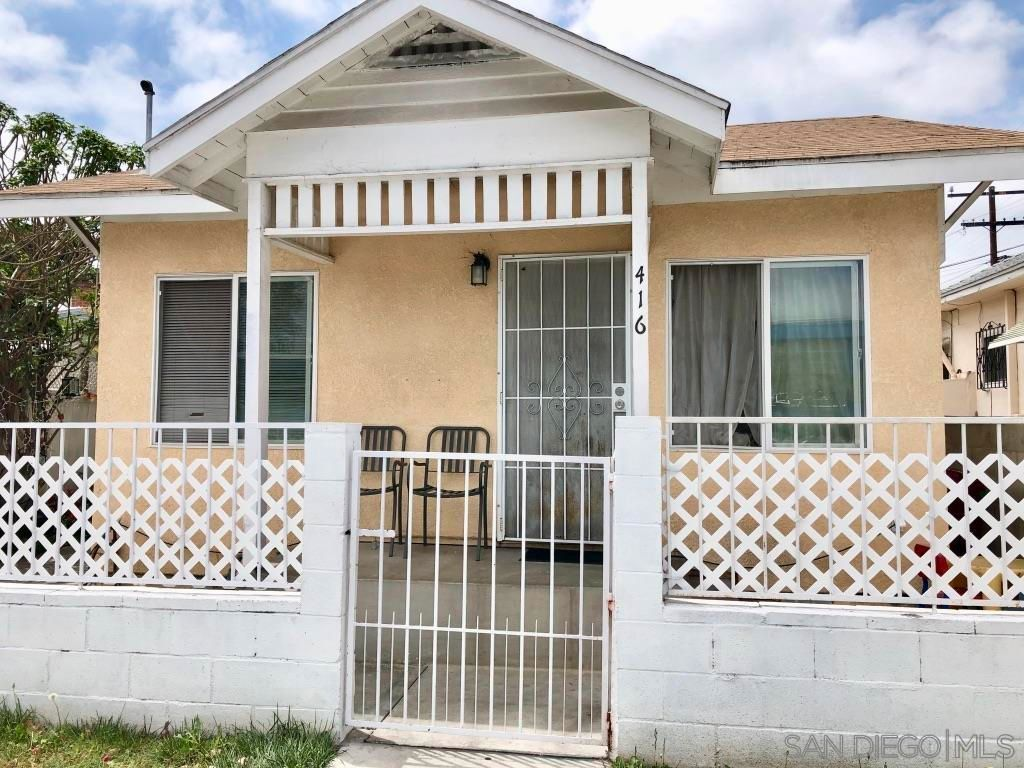 Main Photo: SAN DIEGO House for sale : 2 bedrooms : 416 31St St