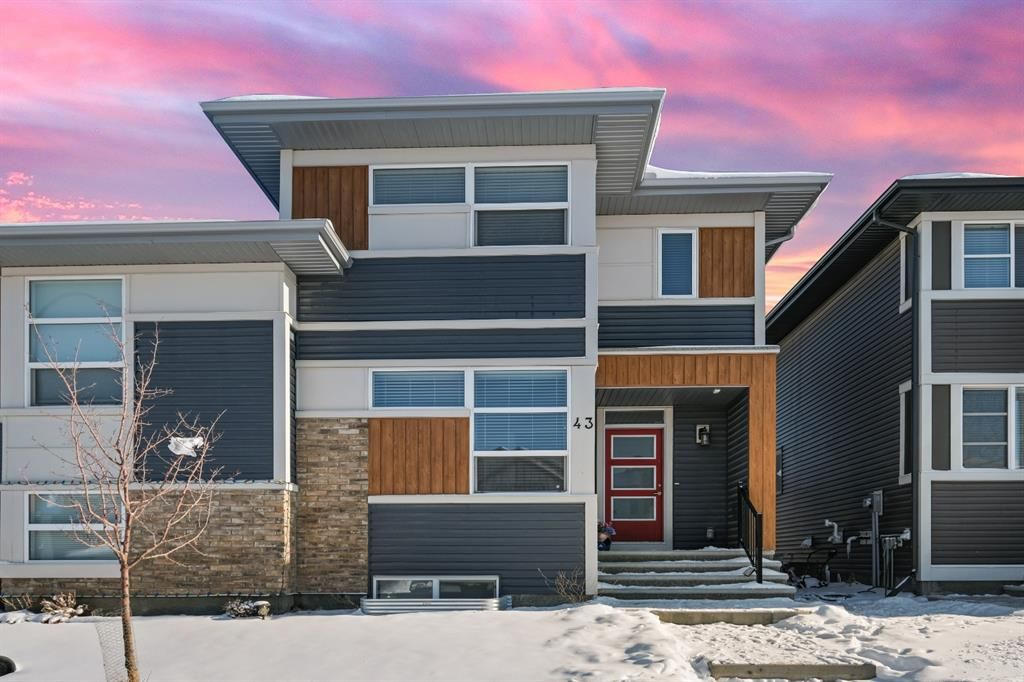 Main Photo: 43 Carringvue Drive NW in Calgary: Carrington Semi Detached for sale : MLS®# A1067950