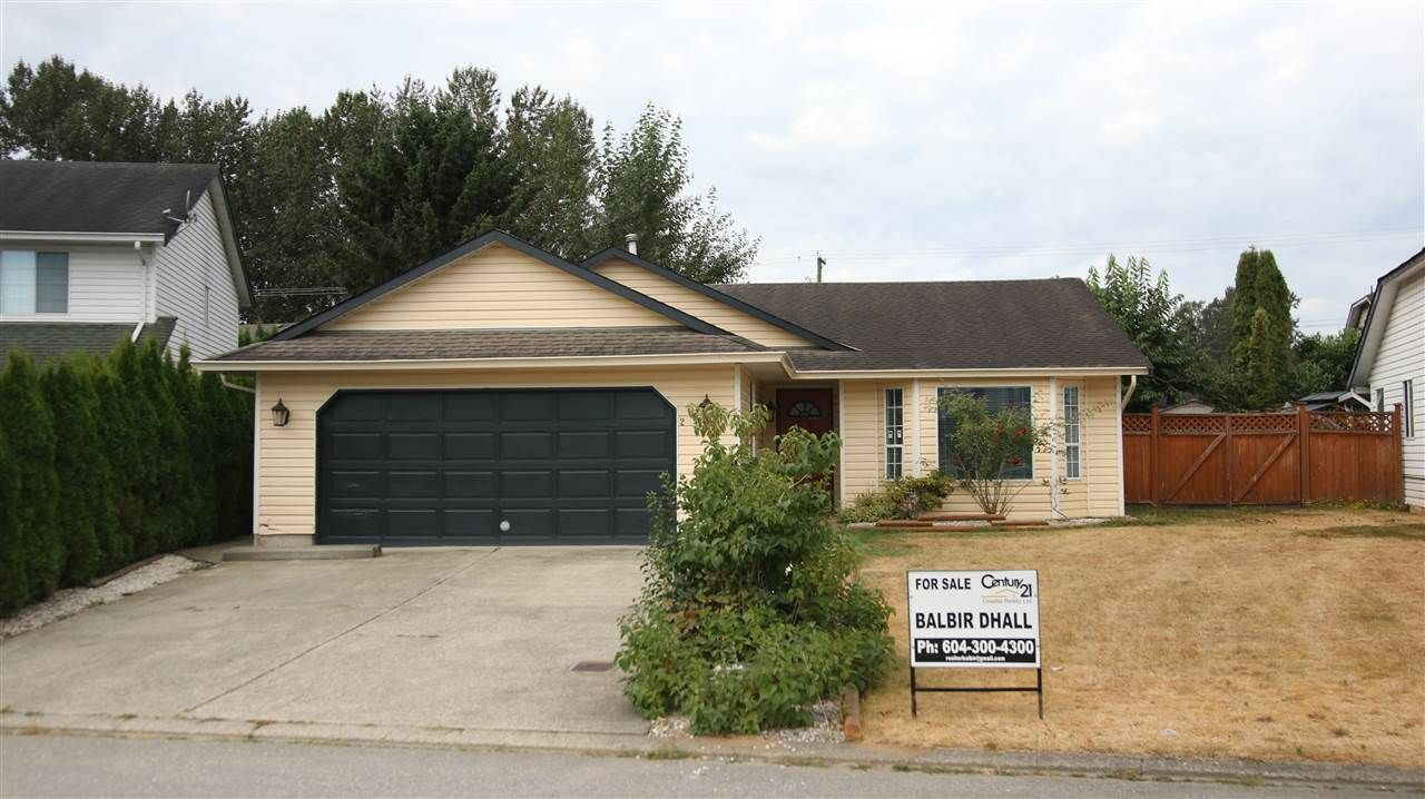 Main Photo: 2709 DEHAVILLAND COURT in Abbotsford: Abbotsford West House for sale : MLS®# R2197457