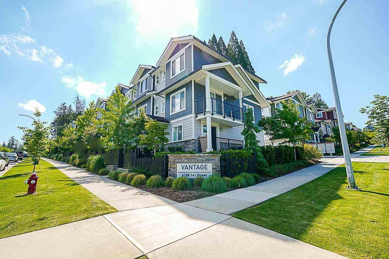 Main Photo: 50 6188 141 Street in Surrey: Sullivan Station Townhouse for sale : MLS®# R2586724