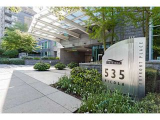 Photo 2: 1501 535 NICOLA Street in Vancouver: Coal Harbour Condo for sale (Vancouver West)  : MLS®# V1120857