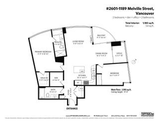 """Photo 14: 2601 1189 MELVILLE Street in Vancouver: Coal Harbour Condo for sale in """"The Melville"""" (Vancouver West)  : MLS®# R2617322"""