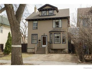 Photo 1: 221 Walnut Street in Winnipeg: West End / Wolseley Residential for sale (West Winnipeg)  : MLS®# 1609946
