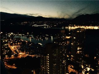 "Photo 2: 3802 1189 MELVILLE Street in Vancouver: Coal Harbour Condo for sale in ""The Melville"" (Vancouver West)  : MLS®# V1128346"