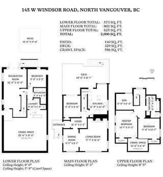 Photo 40: 145 W WINDSOR Road in North Vancouver: Upper Lonsdale House for sale : MLS®# R2541437