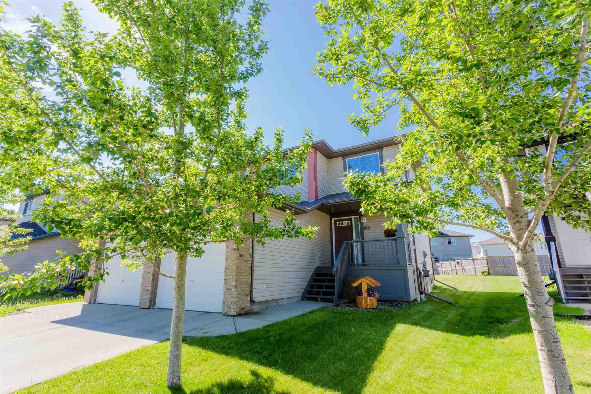 Main Photo: 103 Douglas Lane: Leduc House Half Duplex for sale : MLS®# E4235868