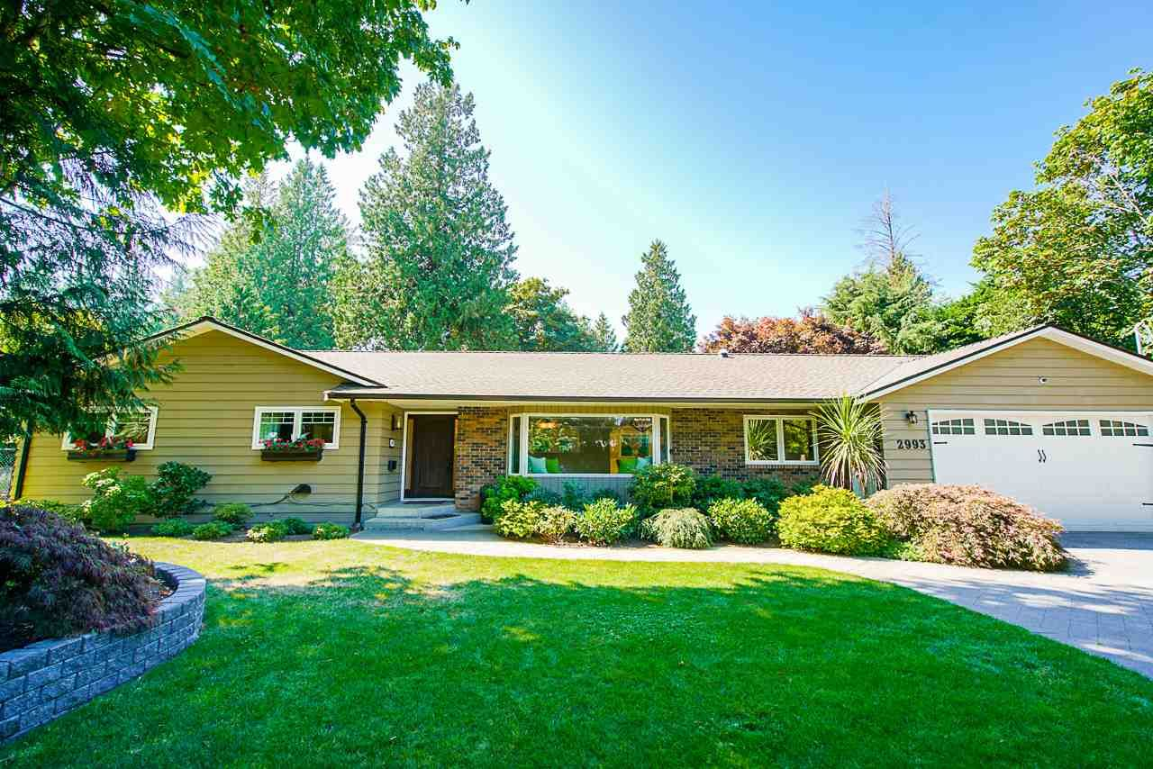 """Main Photo: 2993 132 Street in Surrey: Crescent Bch Ocean Pk. House for sale in """"CRESCENT PARK"""" (South Surrey White Rock)  : MLS®# R2491564"""