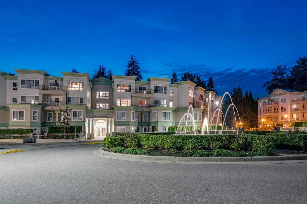 "Main Photo: 308 2960 PRINCESS Crescent in Coquitlam: Canyon Springs Condo for sale in ""THE JEFFERSON"" : MLS®# R2340392"